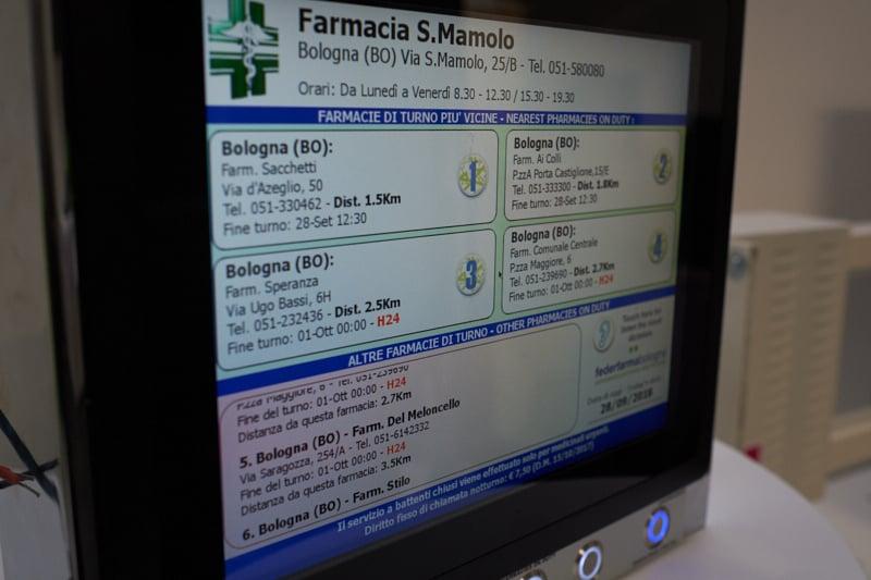 Federfarma Vicenza – convenzione Bacheca Elettronica Turni Farmasi