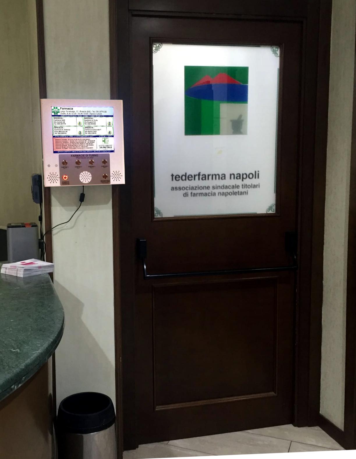 Federfarma Napoli: convenzione bacheca elettronica Farmasi