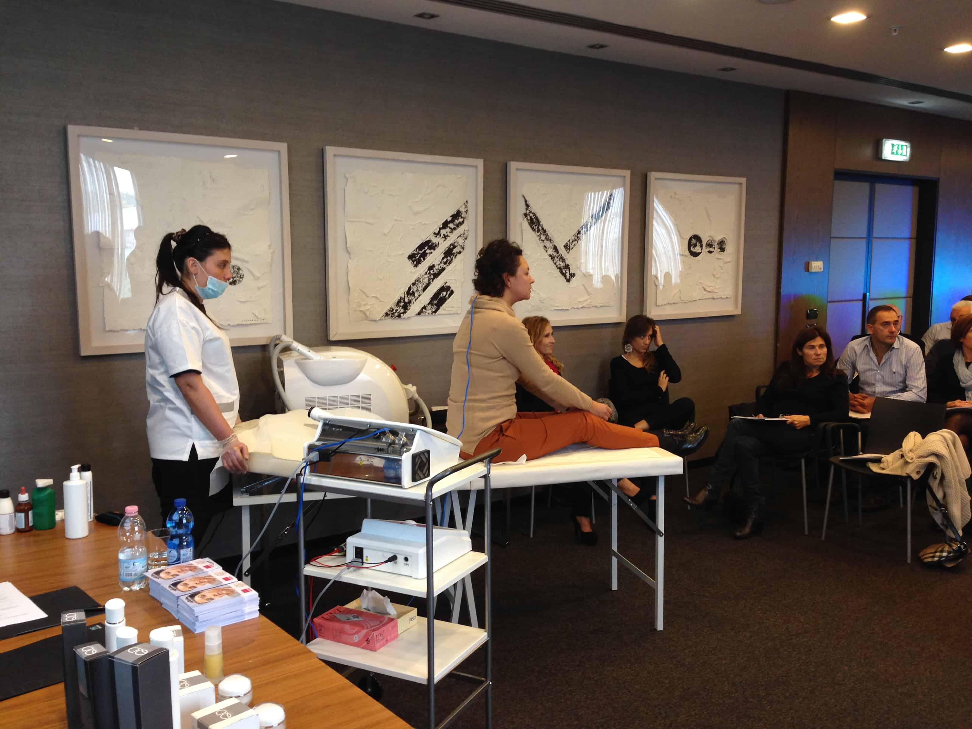 Presentata la linea di Cosmeceutici QD Cosmetiques per cabina estetica