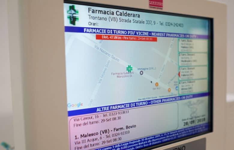La bacheca elettronica Farmacia include molte nuove funzionalità