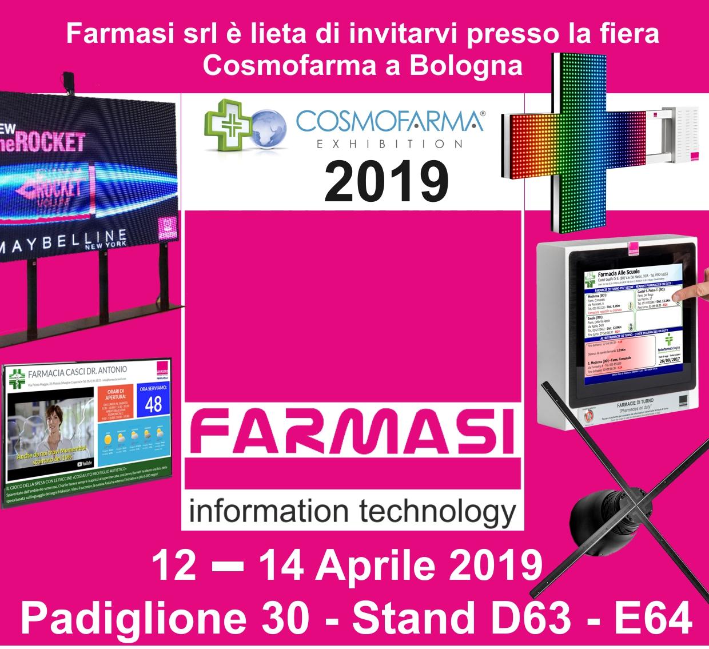Farmasi a Cosmofarma 2019