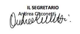 Bacheca elettronica turni con segretario Federfarma Roma