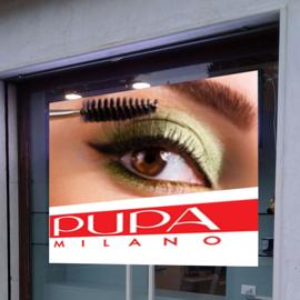Pannelli a Led – Ledwall da vetrina ad alta luminosità con kit biometrico statistiche marketing